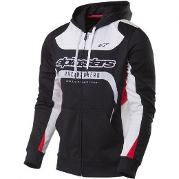 Ζακέτα Alpinestars Session Fleese μαύρη