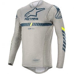 Μπλούζα Alpinestars Supertech off road γκρι