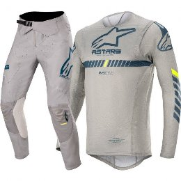 Στολή σετ motocross MX Alpinestars Supertech gear γκρι