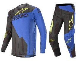 Στολή σετ motocross Techstars Factory Alpinestars gear