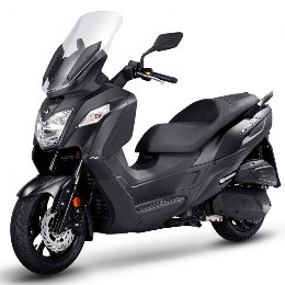 Scooter Sym Joymax Z 250 abs μαύρο