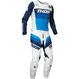 Στολή σετ MX Thor gear pylse racer gear μπλε