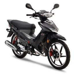 Daytona Sprinter 125i CBS euro4 Bad Black New
