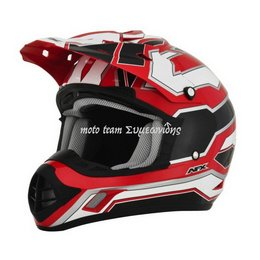AFX HELMET FX17 WORKS RED