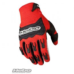 Hebo Baggy gloves Γάντια Κόκκινα