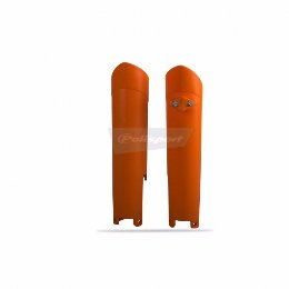 Fork Guards Ktm Orange