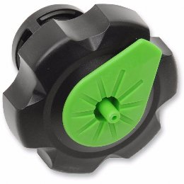 Tuff Jug Quick Fill Fuel Cap Kawasaki Black/Green