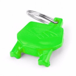 Cycra Number Plate Keyrings Green