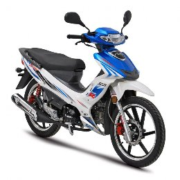Daytona Sprinter 125i CBS euro4   white -electric blue