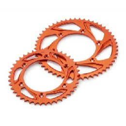 Rear Sprocket Orange Z50 Aluminium Rear Sprocket
