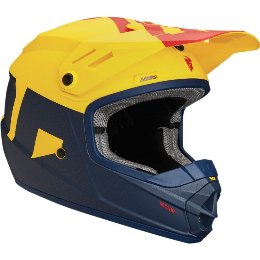 Κράνος Παιδικό Thor Sector Level Navy/Yellow Helmet 2018