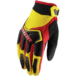 Thor Youth Spectrum Gloves 2018 Παιδικά/Νεανικά Γάντια MX  Κίτρινα-Μαύρα-Κόκκινα
