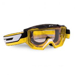 PRO Grip 3200 Light Sensitive Offroad Goggles Yellow/Black Lens Clear