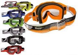 PRO Grip 3200 Light Sensitive Offroad Goggles Green/Black Lens Clear