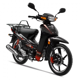 Daytona DY125 Business Bike EFI CBS euro-4 μαύρο