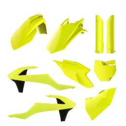 Polisport Complete MX Body Kit KTM Fluo Yellow, Kit SX/SXF 16-18
