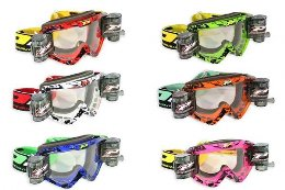 Pro Grip 3458 Race Pack Offroad Goggles Lens Clear
