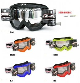 Pro Grip 3208 Race Pack Offroad Goggles Lens Clear