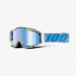 100% Racecraft Hyperloop Offroad Goggle Mirror Blue Lens Μάσκα με μπλέ καθρέπτη