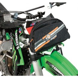 Moose Racing Soft-Goods Number Plate Trail Pack Black