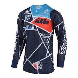 Σετ στολή TROY LEE SE AIR  METRIC NAVY - ORANGE