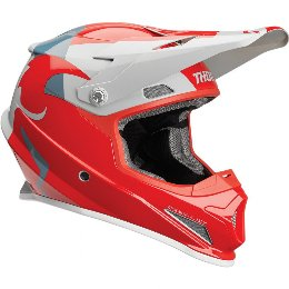 Κράνος Thor Sector Shear Red/Light Gray Helmet '19