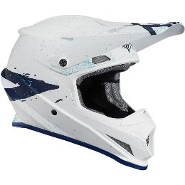 Κράνος Thor Sector Hype White/Blue Helmet '19