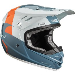 Κράνος Παιδικό Thor Youth Sector Shear Slate/Sky Helmet '19
