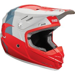 Κράνος Παιδικό Thor Youth Sector Shear Red/Light Gray Helmet '19