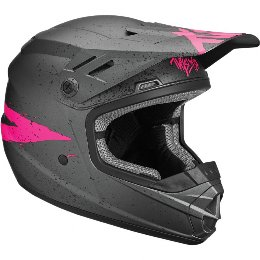 Κράνος Παιδικό Thor Youth Sector Hype Charcoal/Pink Helmet '19