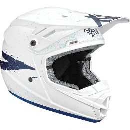 Κράνος Παιδικό Thor Youth Sector Hype White/Blue Helmet '19